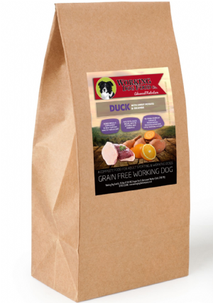 Grain Free Working Dog Food Co. Duck With Sweet Potato & Orange